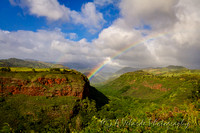 Rainbow over Waimea - Kauai