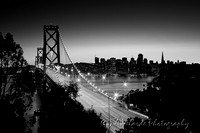 Bay Bridge & Downtown San Francisco