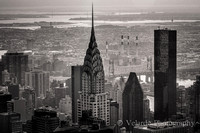 Chrysler Building  - view from Empire State Building